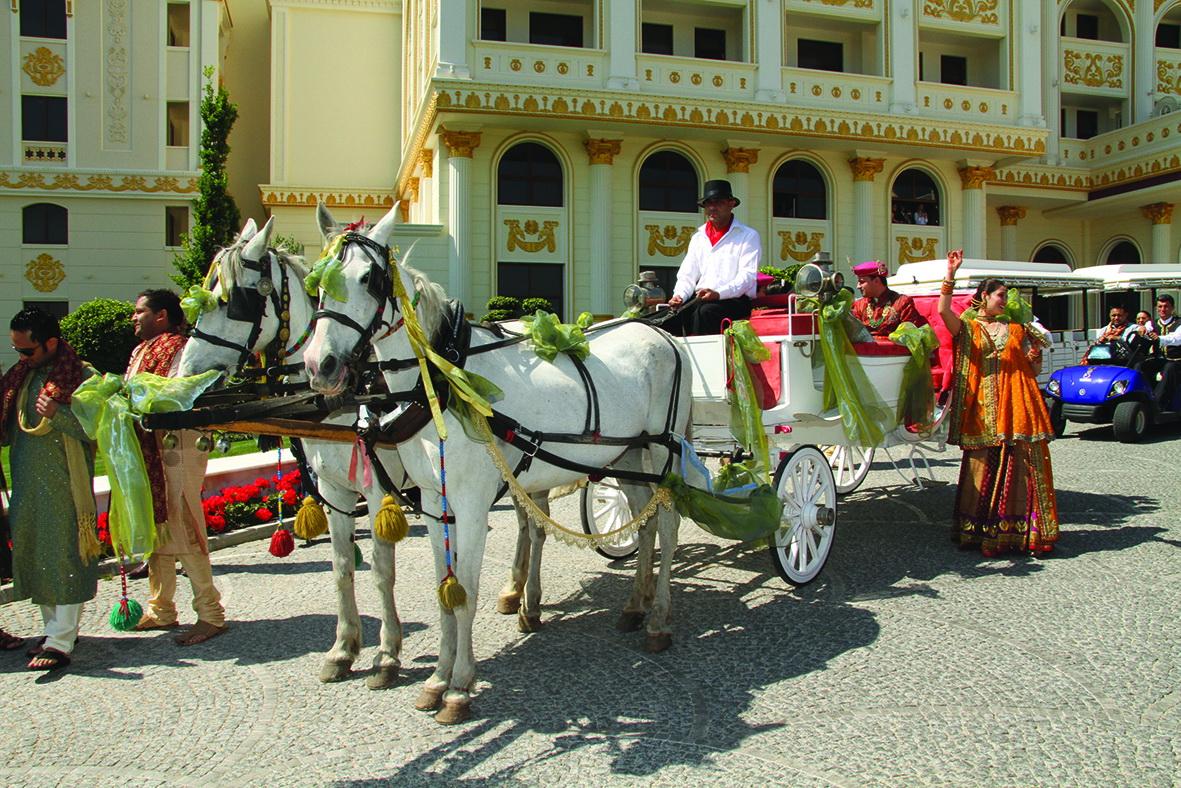 Indian Weddings at Mardan Palace Hotel - Antalya