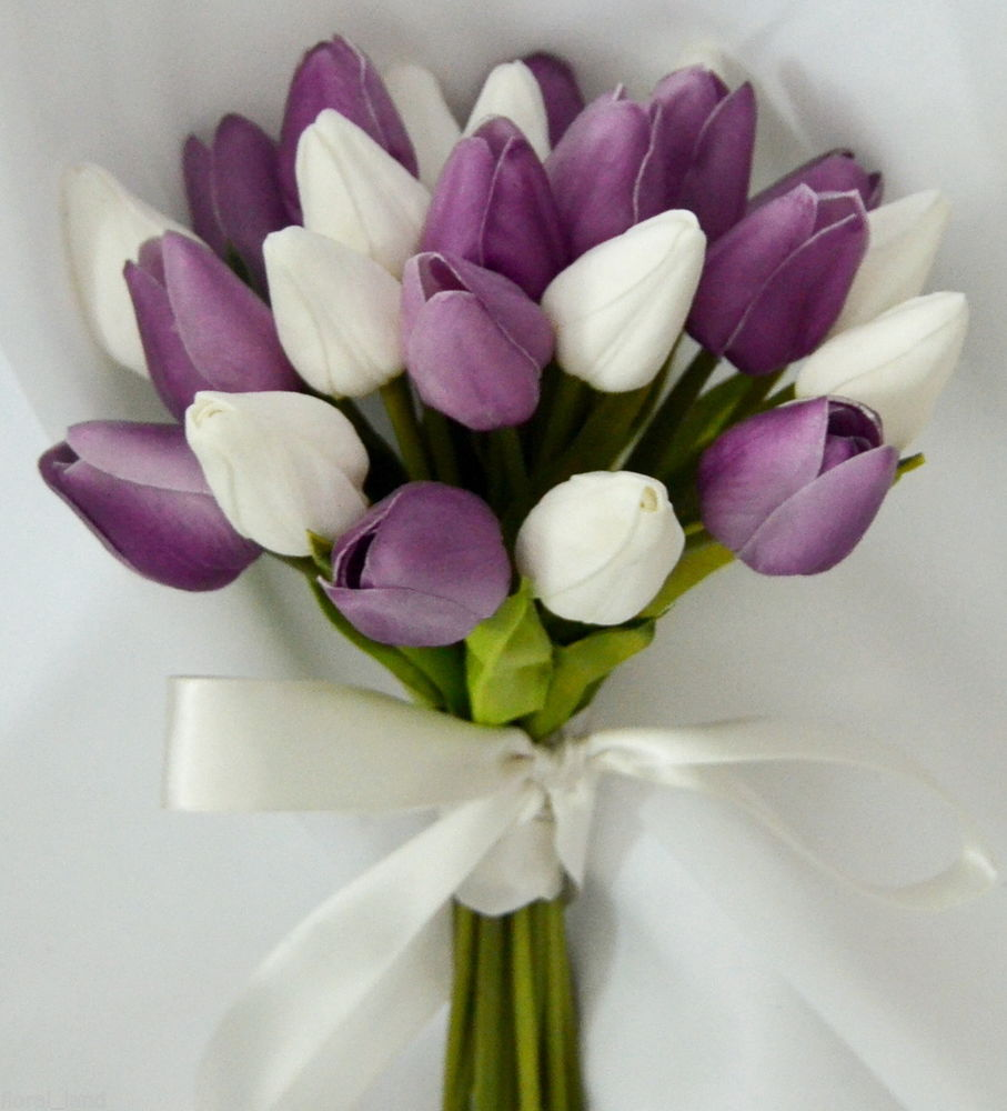 Wedding bouquets of beautiful tulips crystal concepts weddings celebrations - Flowers good luck bridal bouquet ...