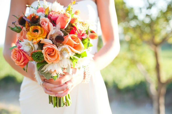Bouquets with Seasonal Flowers