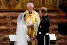 Prince Harry and Meghan Markle's royal wedding day